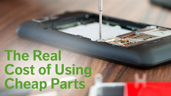 Cheap parts are expensive in the long run